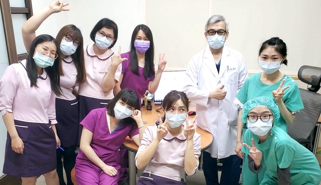 全職員のワクチン接種1回目完了